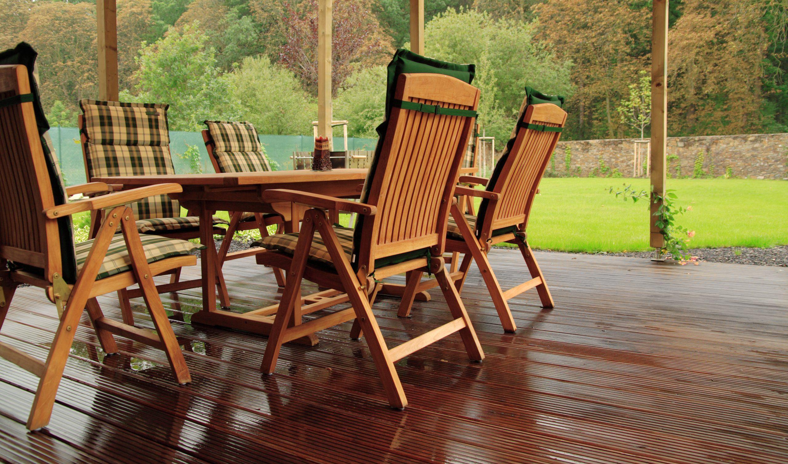 Enjoy Luxury Teak Garden Furniture in your Garden